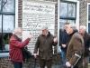 Meppel 15 febr. 2020: Tolbord aan de Reggersweg in ere hersteld