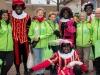 Meppel 16 nov. 2019: Petje af voor Sint, Pieten en vrijwilligers in Meppel