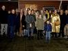 Meppel  19 dec. 2019: Lichtjeswandeling langs verlichte grachten in Meppel