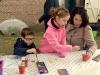 Meppel 19 okt. 2019: Kinderen vermaken zich in en rond molen De Weert