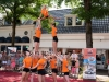 Meppel 8 aug. 2019: Acrogymtoppers  spectaculair op Donderdag Meppel