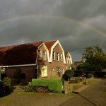 Regenbogen ook boven Drenthe onbereikbaar