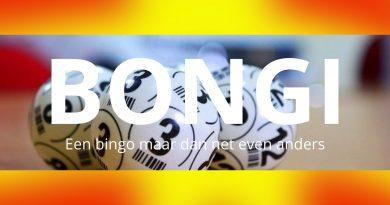 Sinterklaas Bongi, net even anders dan bingo