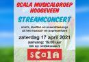 Livestream concert Scala Musicalgroep Hoogeveen