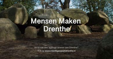 Drenthe bedankt alle vrijwilligers!