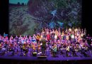 Symfonica in D is samen spelen in een groot orkest